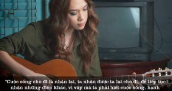 Những câu nói hay truyền cảm hứng cuộc sống từ ca sĩ Mỹ Tâm-6
