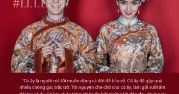 Những lời tỏ tình ngọt ngào lãng mạn hạnh phúc nhất mà Huỳnh Hiểu Minh dành tặng cho Anglelababy-5