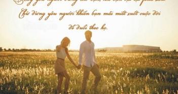 Những câu danh ngôn bất hủ ý nghĩa về tình yêu hay nhất bằng tiếng anh -3