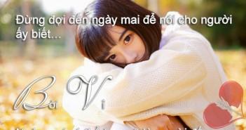 Những câu nói hay ngọt ngào về tình yêu đôi lứa mà ai cũng nên biết-9